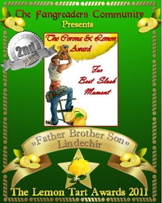 The Corona & Lemon Award 2nd Place