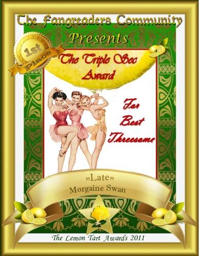 The Triple Sec Award 1st Place