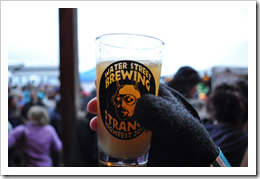image of Water Street Brewing's Strange Brewfest 2010 glassware courtesy of our Flickr page