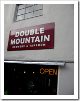 image of Double Mountain's pub courtesy of