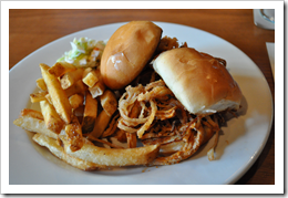 image of Collins Pub's Happy Hour Pulled Pork Sliders courtesy of our Flickr page