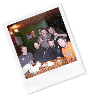 Schooner Exact's Matt McClung, Big Time's Bill Jenkins, Tom Munoz, Diamond Knot's Pat Ringe, BPP owener Gary Sink, & Lazy Boy's Shawn Loring. Circa pre. 2008