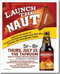 Launch the Naut - Portland 2010 courtesy of Pyramid Breweries