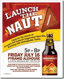 Launch the Naut - Seattle 2010 courtesy of Pyramid Breweries