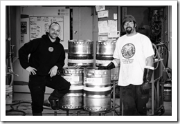 image of Lompoc Brewing's Jonathan Berry and Bryan Keilty courtesy of Portlandbeer.org's Flickr page