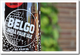 image of New Belgium's Belgo India Pale Ale courtesy of our Flickr page