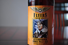 image of Flyers Afterburner India Pale Ale courtesy of our Flickr page