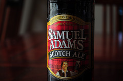 images of Sam Adams' Scotch Ale courtesy of our Flickr page