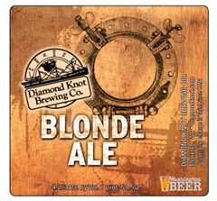 image of Blond Ale from Diamond Knot Brewing Co. courtesy of the brewery.