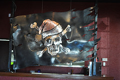 image of Jolly Roger Taproom metalwork courtesy of our Flickr page