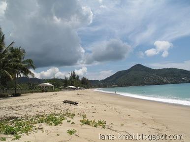 Kamala Beach Monsoon Clouds