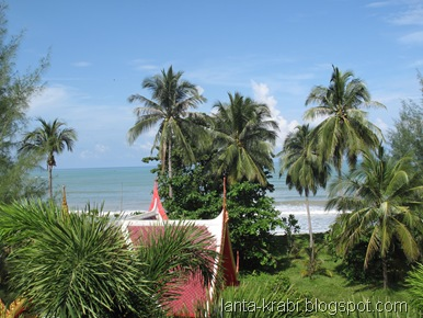 Suwan Palm Resort View From Balcony