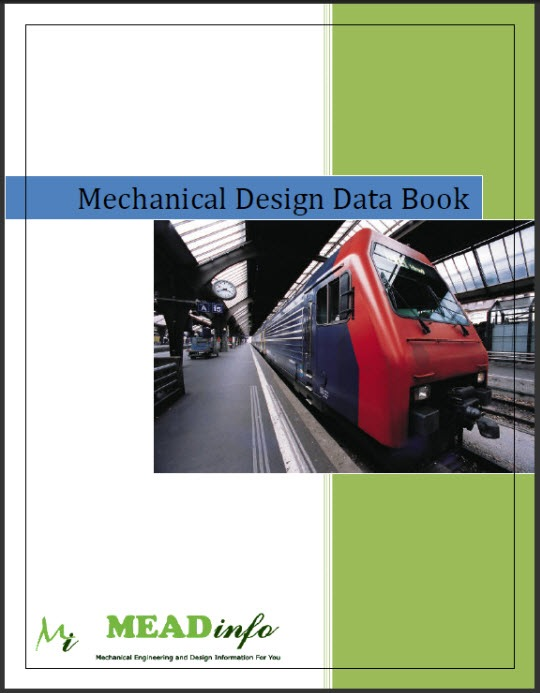 Mechanical Design Data Book MEADinfo