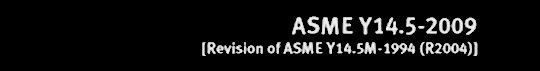 ASME Y14.5 2009