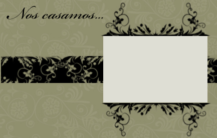 invitacion de boda en color beig para imprimir