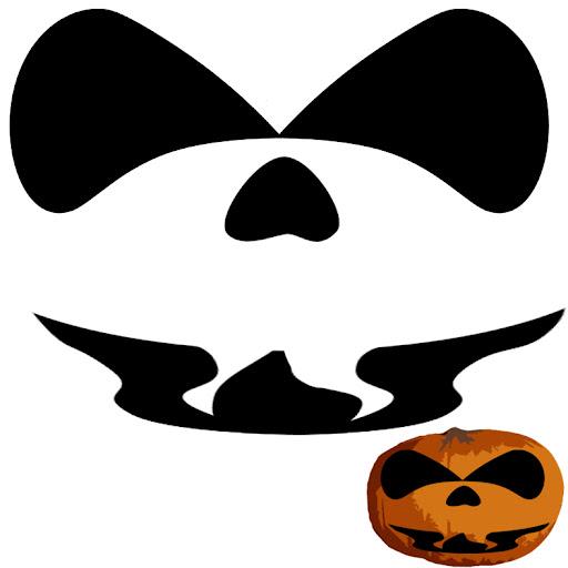 Plantillas para calabazas de Halloween. | DIBUJOS DIBUJOS