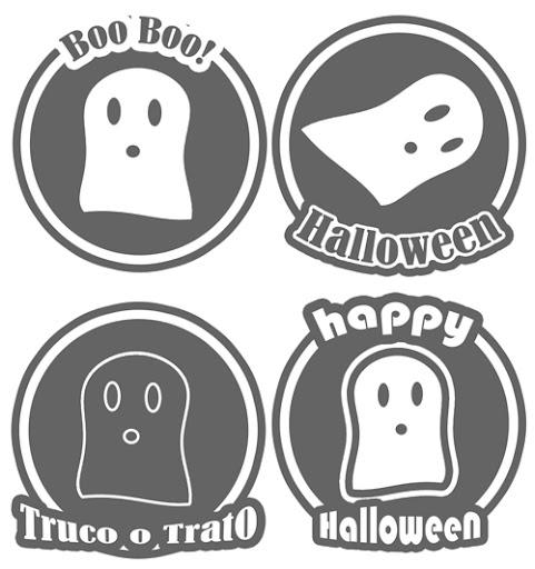 etiquetas de halloween para descargar e imprimir