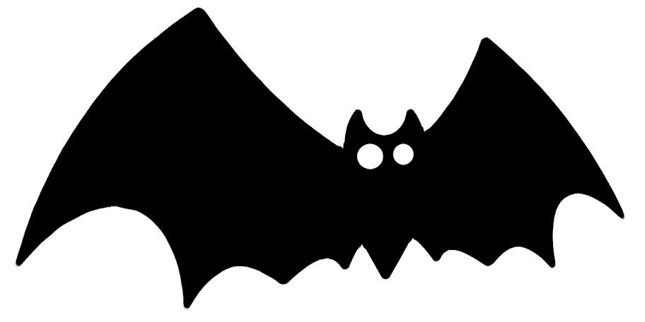 Siluetas para decorar en halloween dibujos dibujos - Murcielago halloween ...