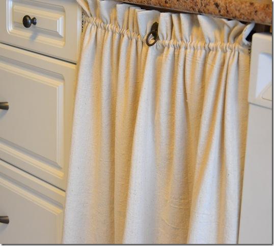 fabric door