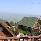 מהמרפסת לצימרים באלומה בכפר