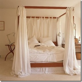 cama com dossel - living etc