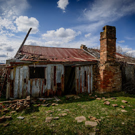 If these walls could speak by FootstepsOf TimeOz - Buildings & Architecture Decaying & Abandoned ( australia, rustic, rural, abandoned, decay )