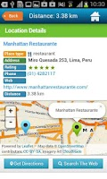 Screenshot of Lima Tourist Guide Map Hotels