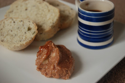 Dibis W'rashi with sliced seeded bloomer and Espresso