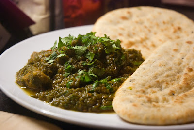 Mumrez Khan's Lamb + Spinach Karahi