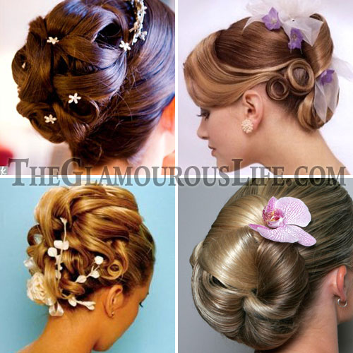 ysopmie: wedding updo hairstyles for long hair