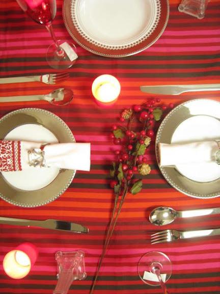 イギリスハビタのテーブルクロス