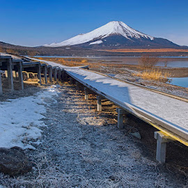 mt.fuji from yamanaka by Kadek Lana - Landscapes Travel ( landscape )