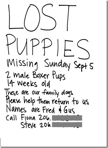 lost pups bw 001