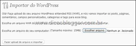 selecionar-arquivo-importar-wordpress
