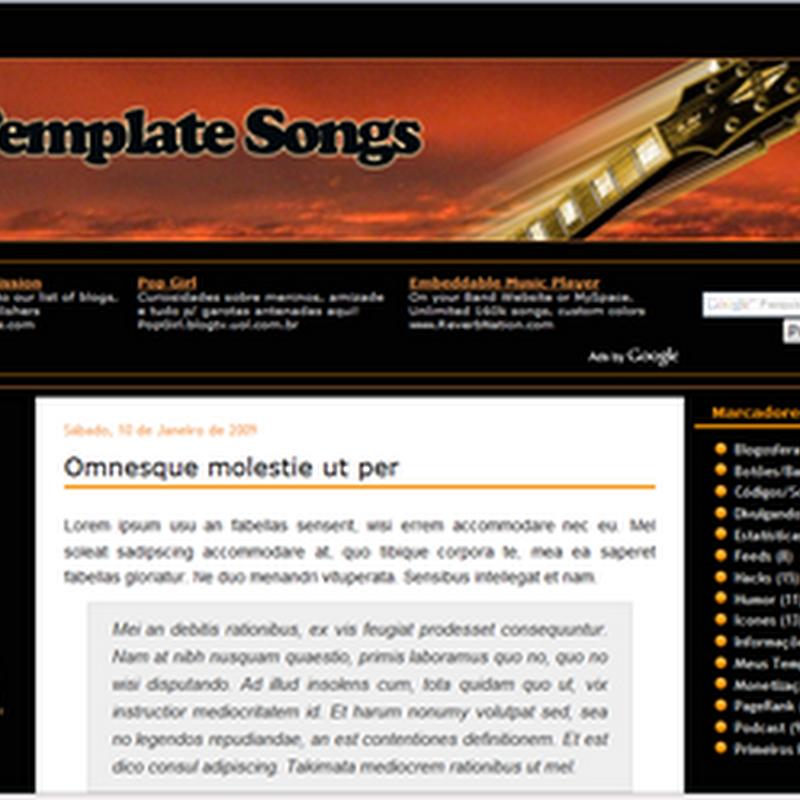 Template Songs