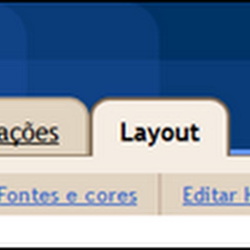 Os elementos de página do Blogger