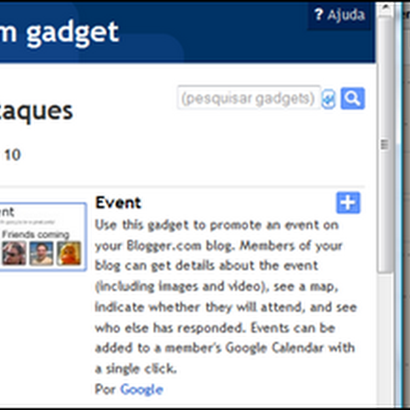 Blogger 10 anos – convide seus amigos pra festa!