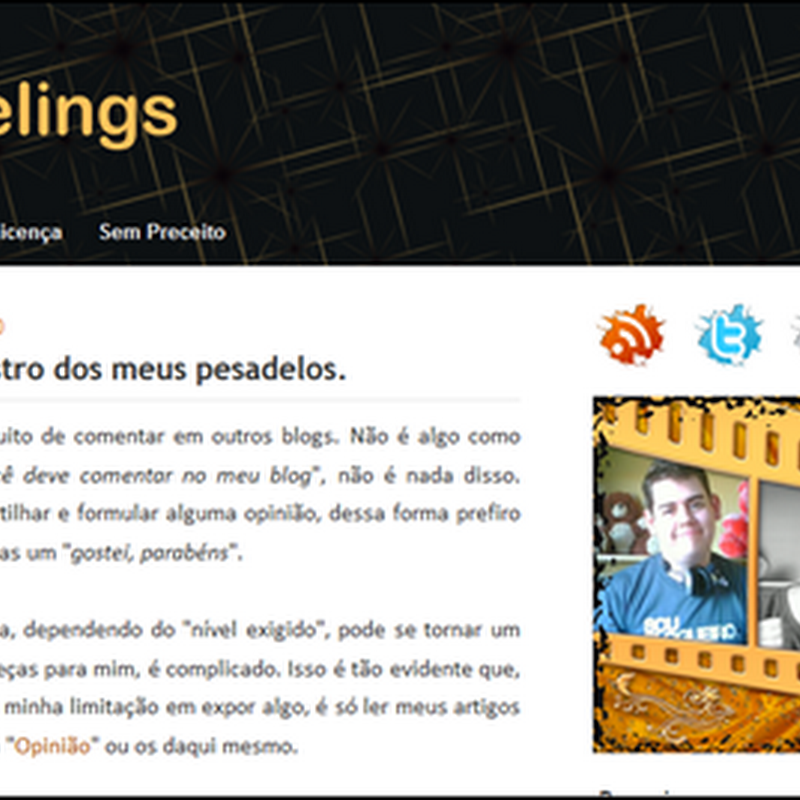 Templates exclusivos para Blogger
