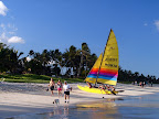 Kailua Beach Sailboat
