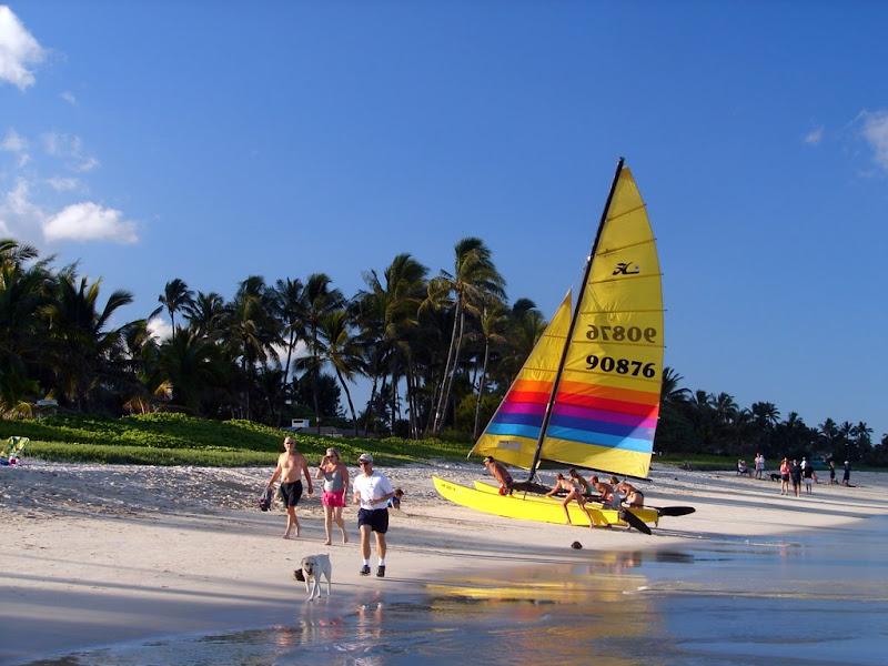 Kailua Beach Sailboat Download Wallpaper
