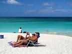 Kailua Beach sun bathers