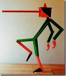 Mario Ceroli - Pinocchio