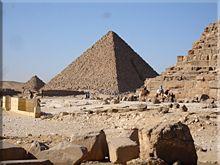Pirámides de los familiares de Kefrén