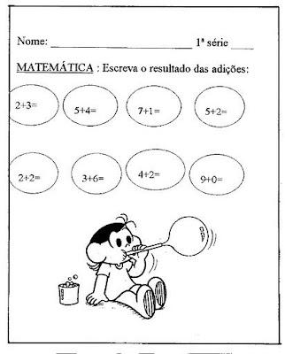 Atividade De Matemática Para Imprimir Jogos E Brincadeiras