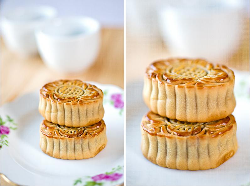 Mini moon cakes