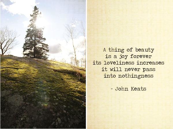 Tree and John Keats