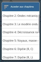 Screenshot of Fiches de Bac (physique)-FREE