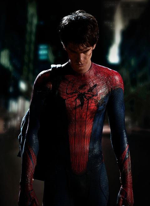 Spider-man: Andrew Garfield