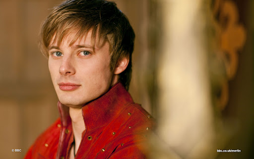 Bradley James is Prince Arthur