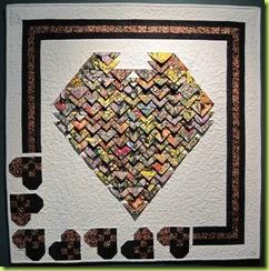 Robin's Heart Quilt 0210